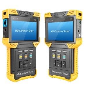 Image 3 - DT T70 H.264/ H.265/ 4K IP Analog Camera Tester 4.0 Inch HD Combine Tester CCTV Tester Monitor Support ONVIF TDR RJ45 Cable Test