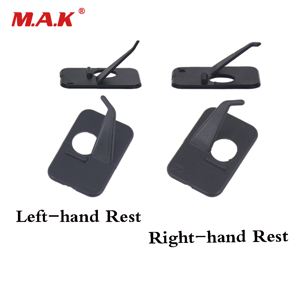 2 Pc Plastic Arrow Rest Right/Left Handed For Professional Recurve Bow Outdoor Archery Hunting Shooting