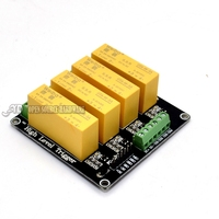 4 Channel 3 32V High Level 5A Solid State Relay Module DC AC Load 5A