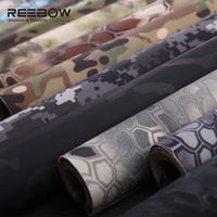 REEBOW TACTICAL Outdoor Military Camouflage Self Adhesive Cloth Super Elastic Outdoor Camping Paste Cloth For Gun