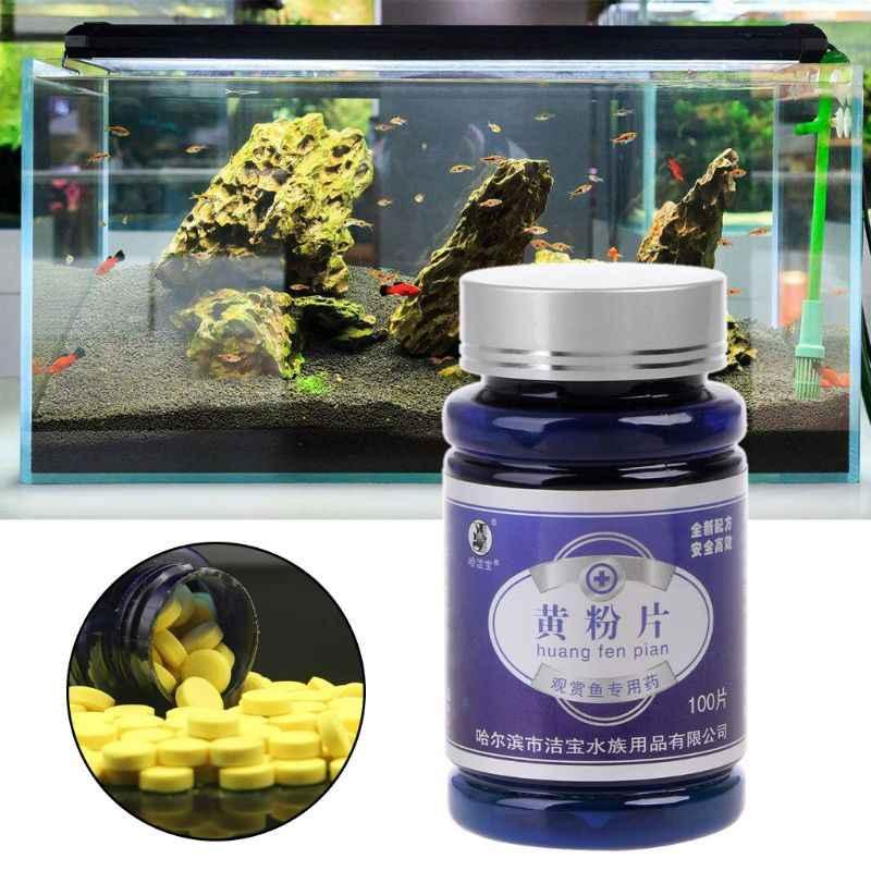 100 個魚抗生物質医学負傷腐ったフィン薬防止感染