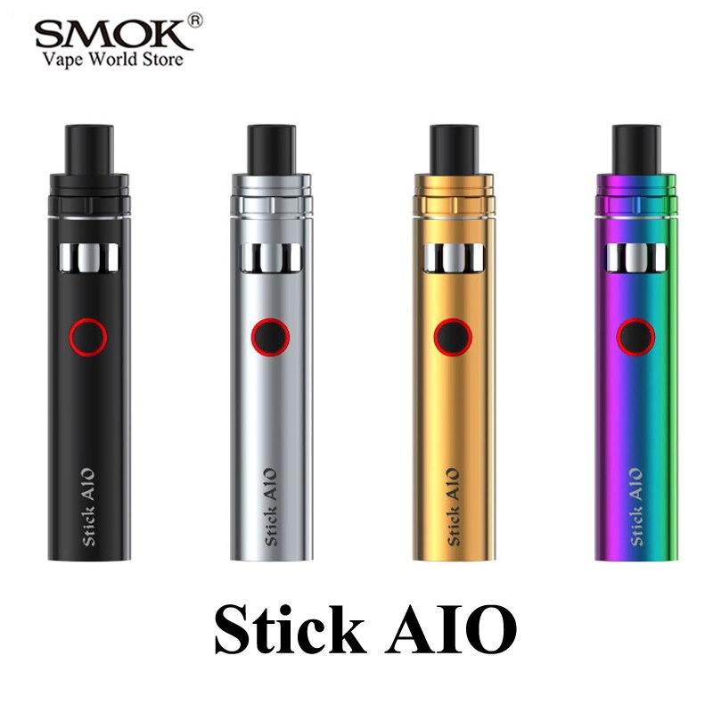 Cigarette électronique SMOK Vape stylo bâton Aio Kit E Cigarette EVOD E narguilé Kit vaporisateur VS EGO AIO i2 S025