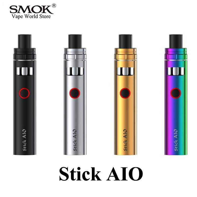 bilder für Elektronische Zigarette SMOK Vape Stift Stick Aio Kit EGO E Zigarette EVOD E Shisha Kit Verdampfer 1600 mAh Batterie Mod Mit Tank S025