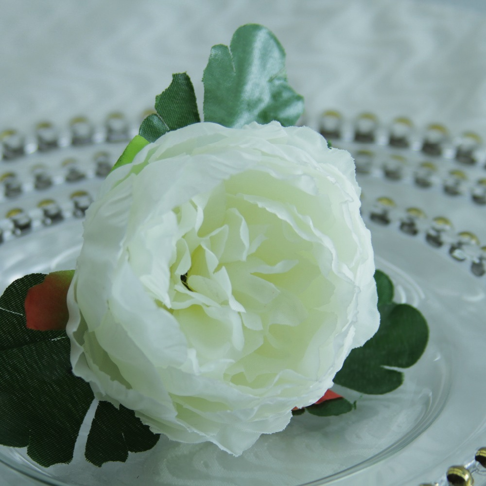 Free shipping qn19021901 handmade silk flower napkin ring wedding decoration napkin holder many colors 12 pcs