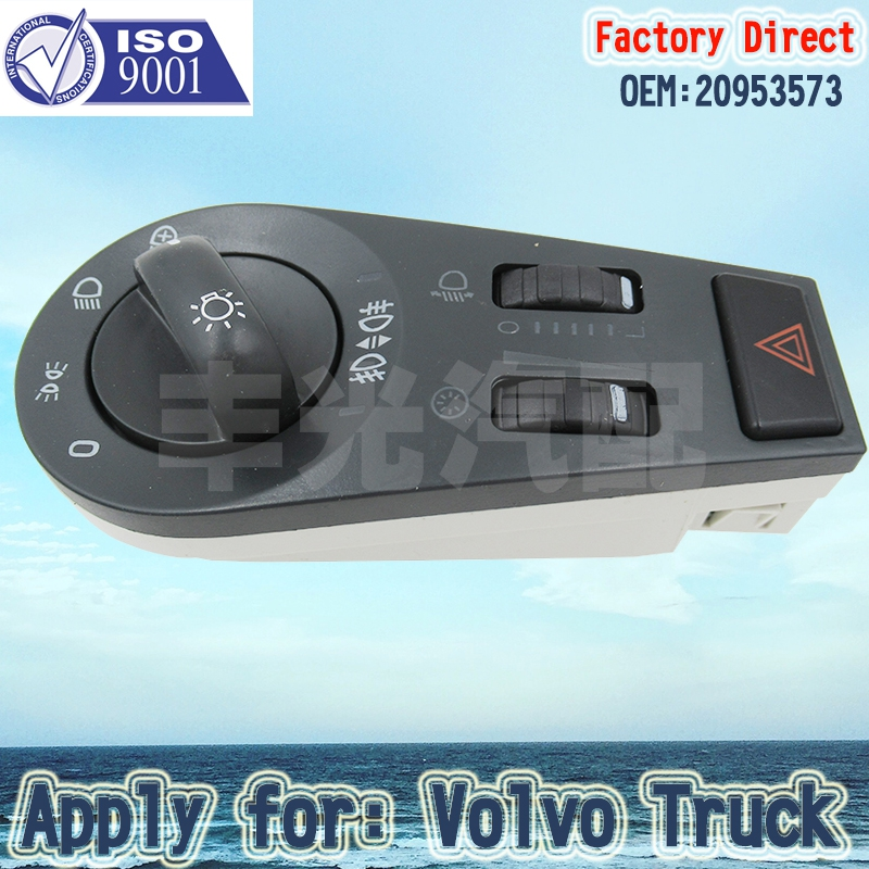 Factory Direct Truck parts Switch W H Lamp height adjusting 20953573 Apply for Volvo in Car Switches Relays from Automobiles Motorcycles