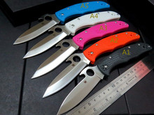 5PCS/LOT Wholesale Multi-colored C10 Folding Pocket Knife Tactical Survival Knives Camping Outdoor Hunting Tools