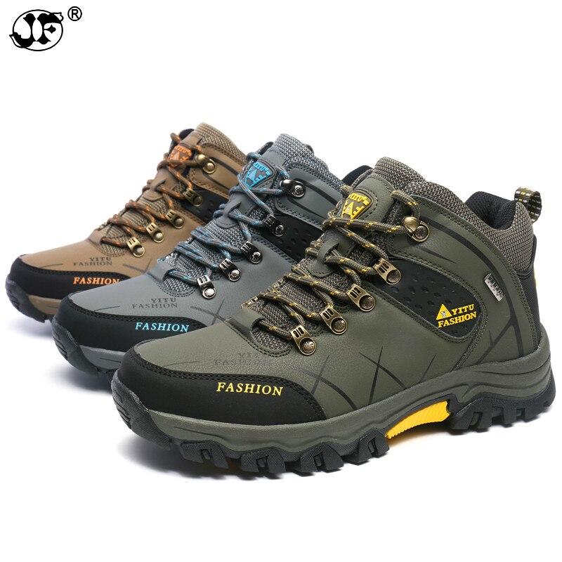 39-47 Männer Stiefel Anti-schleudern Leder Schuhe Männer Anti-schleudern Frühling Herbst Männer Schuhe Große Größe 552 Auswahlmaterialien