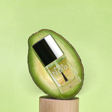 MISS NORA 6ML Nail Polish Essence Natural Avocado Reinforcement Oil Manicure Cure Replenishing Care Base Coat