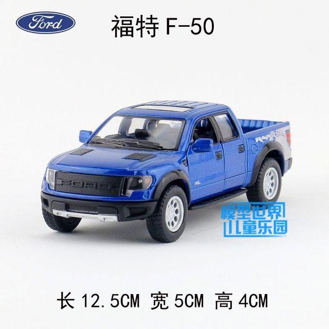 Kinsmartcast Model  Ford F  Svt Raptor Supercrew Toy Pull Back Car For Childrens Gift Or Collection Gift