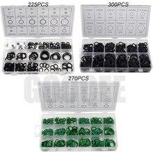 O-Ring Rubber Washer Seals-Set Car-Gasket Assortment 225PCS Black Nitrile for 270PCS