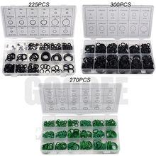 O Ring Rubber Washer Seals Assortment Black O-Ring Seals Set Nitrile Washers High Quality For Car Gasket