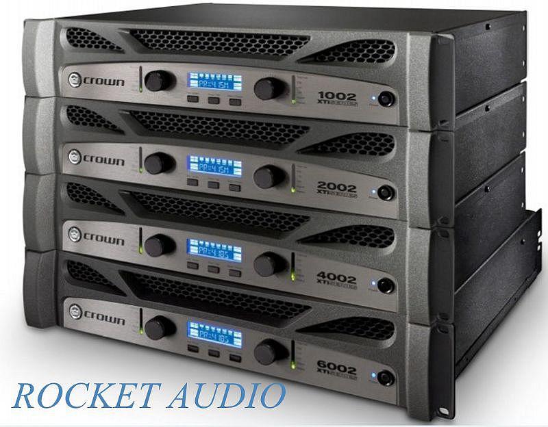 NEW!!! CROWN XTi 2002 2-Channel Rack Mount Power Amplifier XTI-2002