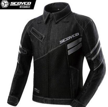 Chaqueta Verano Transpirable Scoyco Jean Motocicleta Moto pqw1807E
