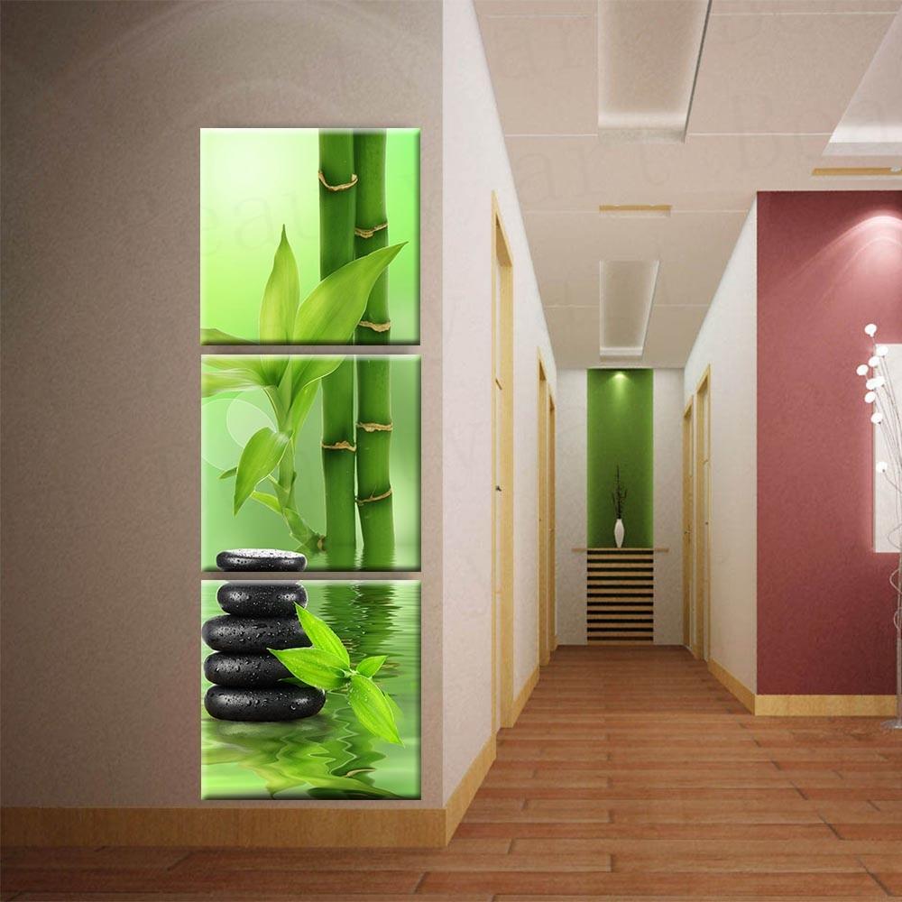 3 панел Wall Art платно боядисване стена - Декор за дома - Снимка 3