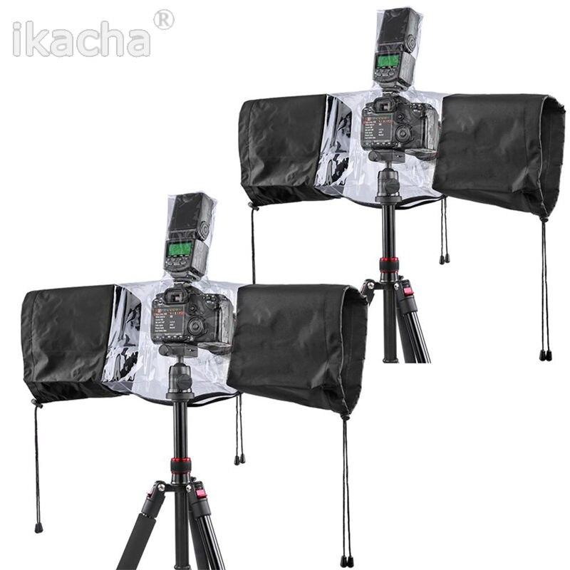 Professional Rubber Camera Rain Cover Coat Bag Protector Rainproof Waterproof Against Dust for Canon Nikon Pendax