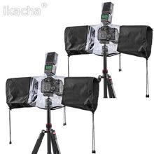 Профессиональная Резиновая Камера Дождевик Пальто Сумка Протектор Непромокаемые Водонепроницаемый От Пыли для Canon Nikon Pendax Sony DSLR SLR