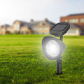 4 LED Solar Lawn Lamp Solar Powered Spotlight IP44 Waterproof Outdoor Garden Landscape Yard Decoration Light For Pond Path
