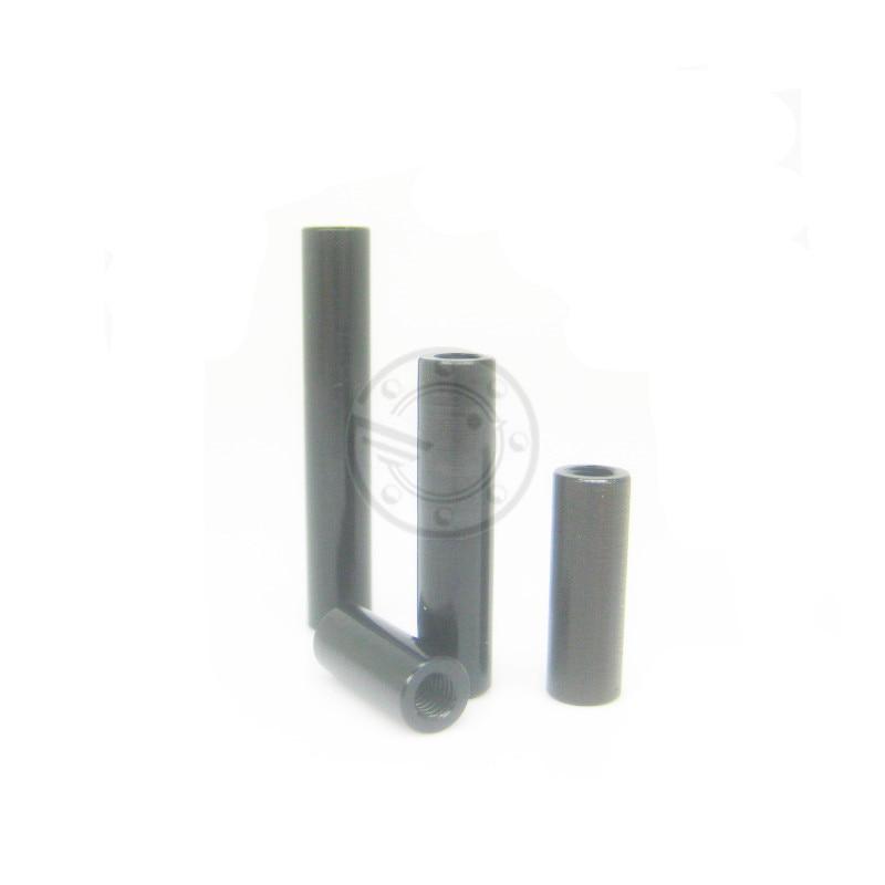 4 X 10mm Stand Off Spacers 18mm Dia Aluminium Bushes Bonnet Raisers Collars M10