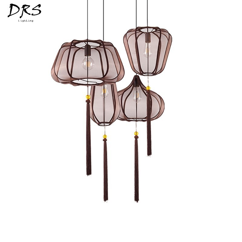 New Chinese Style Vintage Led Pendant Lights Lustre Loft Deco Retro Hanging Light Fixtures Dining Room Home Luminaire SuspenduNew Chinese Style Vintage Led Pendant Lights Lustre Loft Deco Retro Hanging Light Fixtures Dining Room Home Luminaire Suspendu