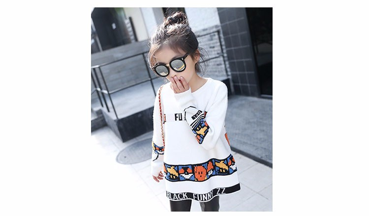 loose knitted sweater girls winter autumn spring 2017 new white character knitting teenage little girls sweaters and pullovers 6 7 8 9 10 11 12 13 14 15 16 years old little teenage big girl sweaters for kids (17)