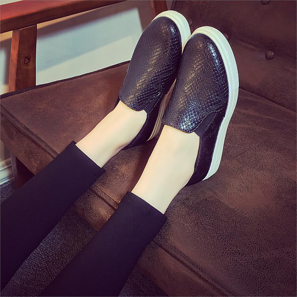 Zapatos negros casual para mujer HNK7hJ