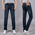 SULee brand 2017 summer Mens Large Plus Trouser High Quality  Slim Blue Denim Ripped Jeans for Men Big and Tall Size Pants