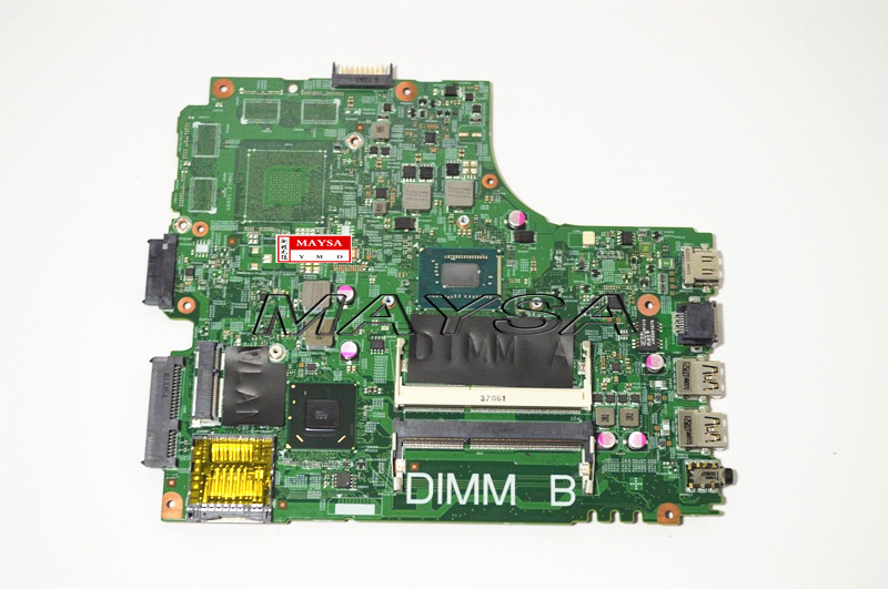 Laptop Motherboard Fit FOR Dell for INSPIRON 3421 Series Notebook CN-07GDDC PWB:5J8Y4 I3-2375M 07GDDC Mainboard, DDR3 , HDMI 3pddv cn 03pddv laptop motherboard for dell inspion m5030 hd4200 graphics ddr3 mainboard