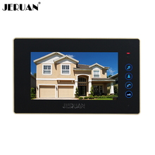 JERUAN 7 дюймов цвет видео домофонные интерком система только контролировать 722B крытый