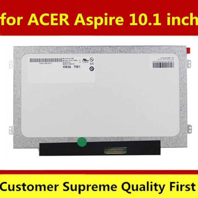 10 1 inches notebook lcd screen for packard bell n450 pav80 aspire