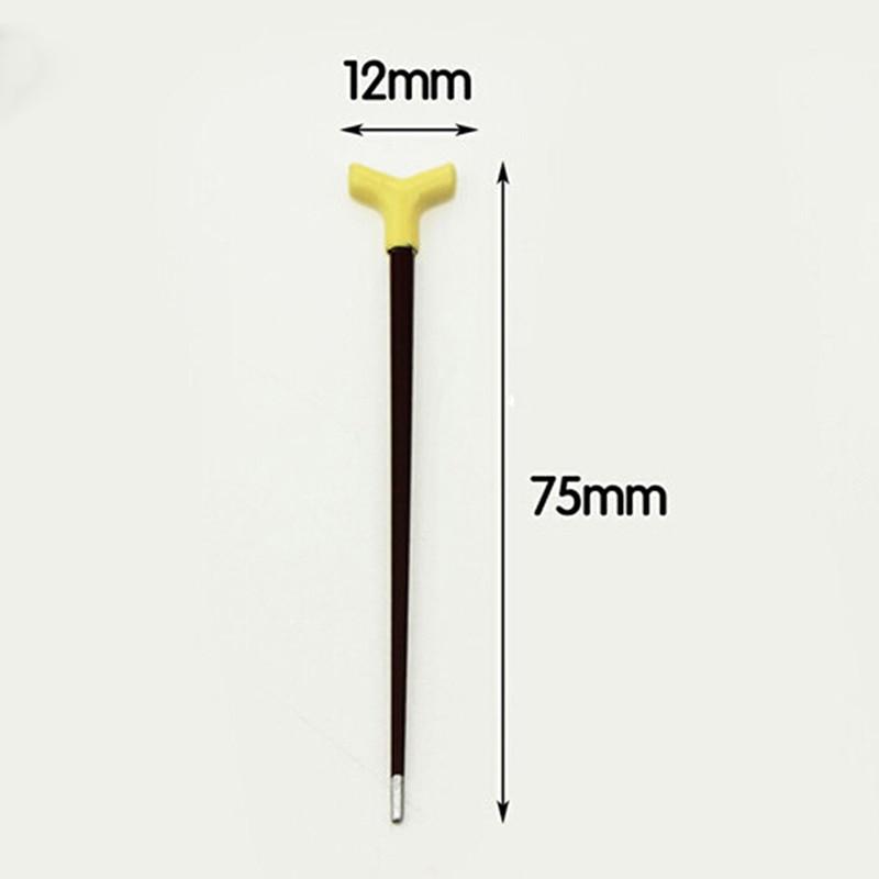 1//12 Dollhouse Miniature Vintage Gentleman Walking Stick Crutch Accessories T/_H5