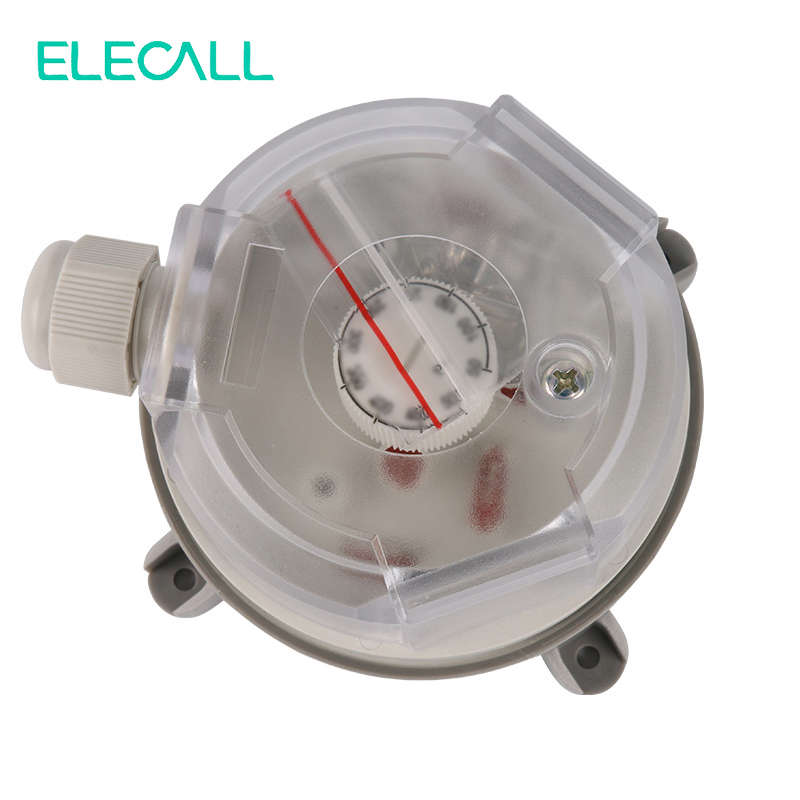ELECALL 20-1000Pa Air Differential Pressure Switch Adjustable Micro Pressure Air Switch High Quality цена и фото