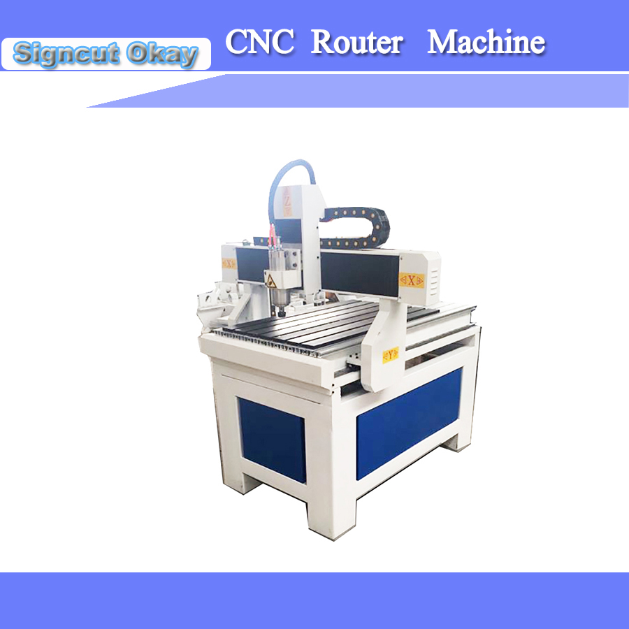1.5/2.2/3kw 3 Axis CNC Router Machine With Woodworking Engraver Machine Cnc Router 6090 Machine Desktop Wood Machine