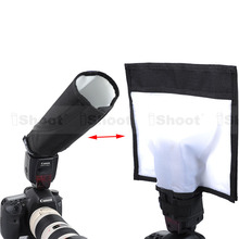 25×28 cm Multifonctionnelle Pliable Réflecteur/Réfléchissant Speedlite Snoot/Fermé Flash Softbox Diffuseur pour Canon Nikon Pentax Metz