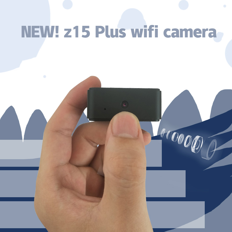 IP camera Z15 Mini battery Portable Camera P2P Wireless WiFi Video Recorder for IOS iPhone Android Phone APP Remote View image