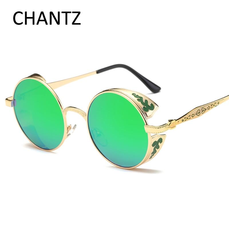 Vintage Polarized Steampunk Sunglasses Mujeres polarisiert - Accesorios para la ropa