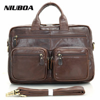 100 Genuine Leather Men Bag High Grade Oil Leather Men S Handbags Casual Business Shoulder Bags