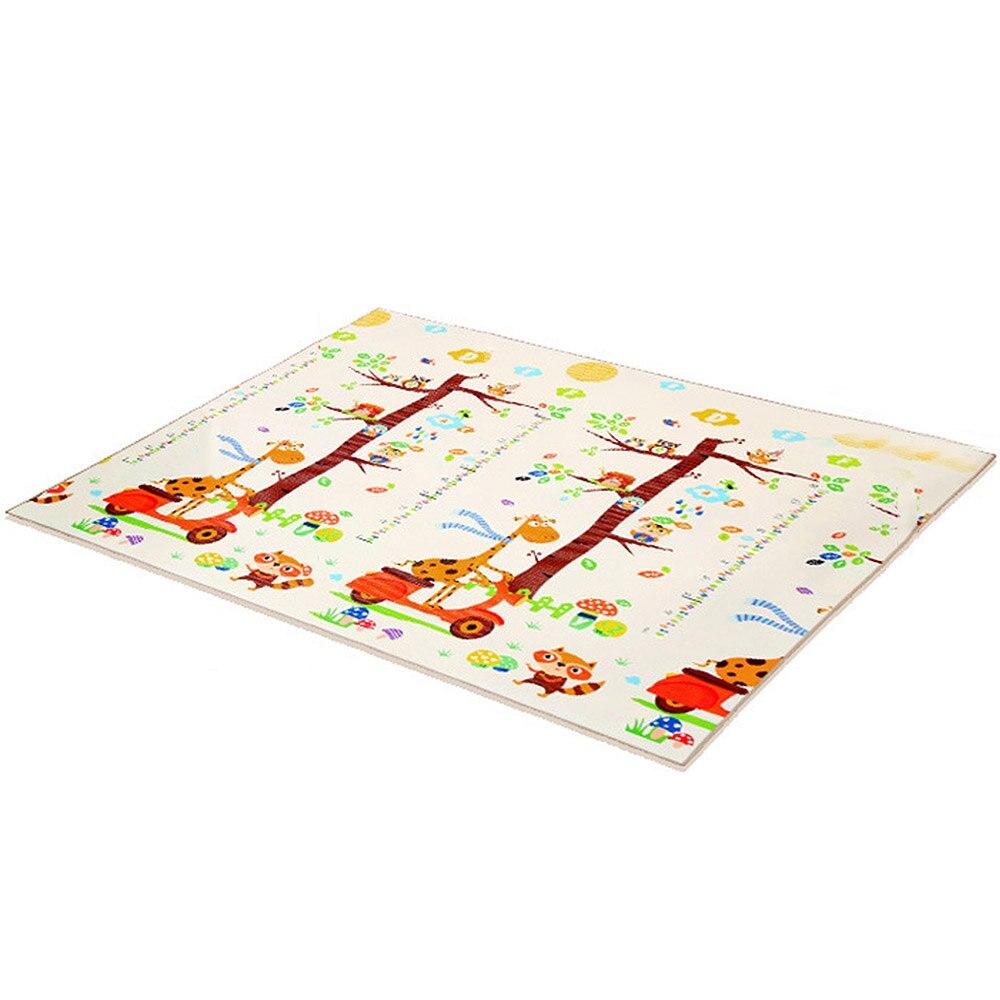 1.2*1.8 M Infantil bébé chambre ramper Pad tapis pliant bébé tapis de jeu Xpe Puzzle enfants tapis épaissi Tapete bébé tapis J75