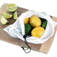 12 Pcs Set Reusable Produce Bags Black Rope Mesh Bags Storage Vegetable Bags Fruit Bags Grocery