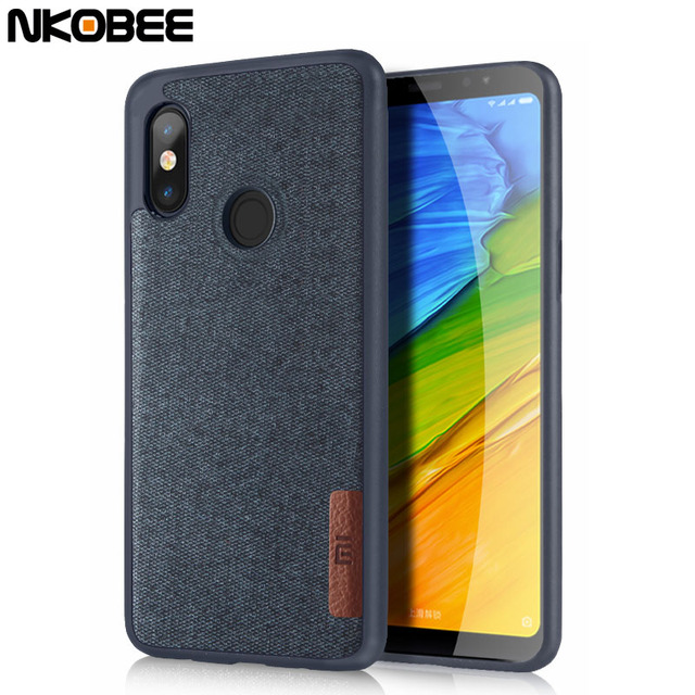 buy online 9b9b1 12e26 US $4.43 |NKOBEE For Xiaomi Redmi Note 5 Pro Case For Redmi Note 5 Pro  Cover Original Cotton Cloth Phone Case For Note5 Pro Silicon Case-in Fitted  ...