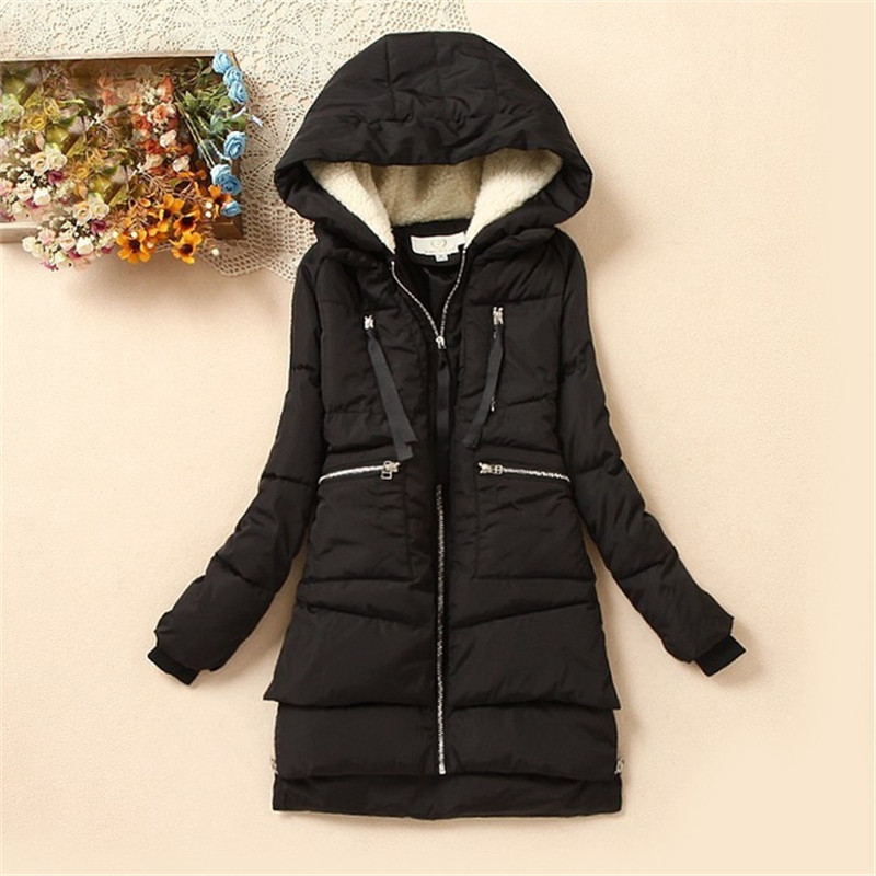 2017 Brand Maxi Winter Coat Wadded Cotton Winter Jacket Women Parka Military Coats Hood Army Green Black Outwear For Women DM013 avent philips freeflow 6 18 мес уп 2шт bpa free avent авент