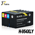 New For HP 954 XL 954XL Full Ink Cartridge BK/C/M/Y For HP OfficeJet Pro 7740 8210 8710 8715 8716 8720 8725 8730 8740 Printer