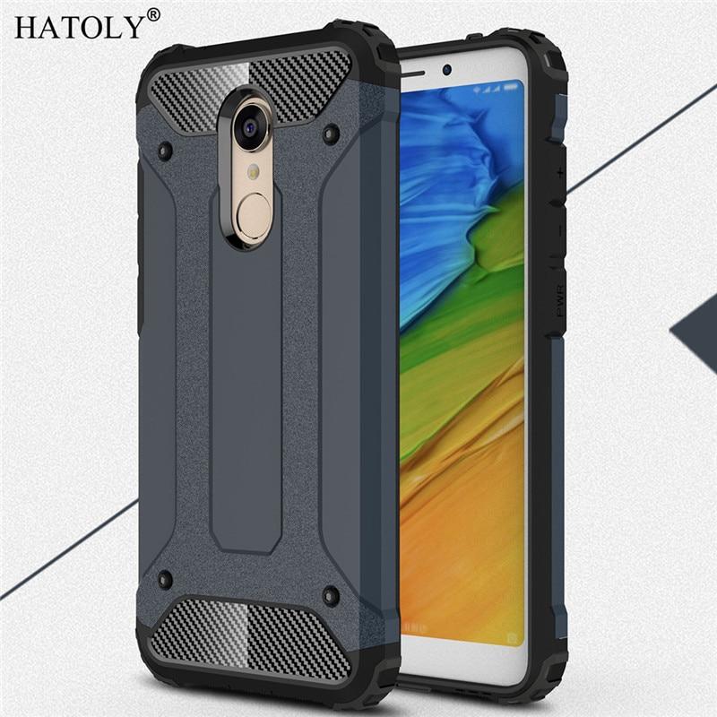 Xiaomi Redmi 5 Plus Case Silicone Hard Cover Case For Xiaomi Redmi 5 Plus Cover For Xiaomi Redmi 5 Plus Phone Bag Case HATOLY