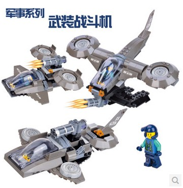 ФОТО WOMA J5639 Armoured Fighter Helicopter 3 in 1 Model Building Block Sets 165pcs Educational DIY Bricks Toys