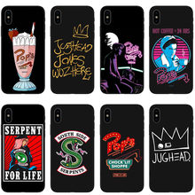 American TV Riverdale Silicone TPU Phone Case for iPhone SE 5 5S 6 6S 7 8 Plus Southside Serpents Cover For iPhone X XR XS MAX(China)