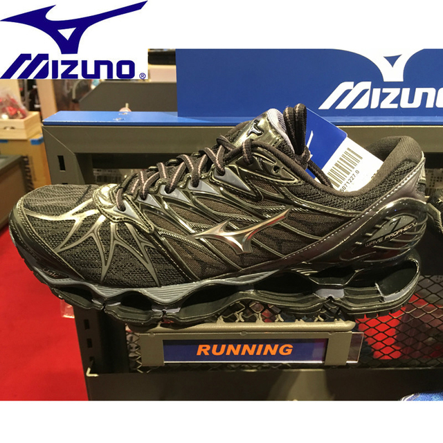 Дешевая распродажа Mizuno Wave Prophecy 7 Professional Для мужчин ShoesRunning обувь для Для мужчин 6 Цвет Вес подъема стабильной спортивные кроссовки