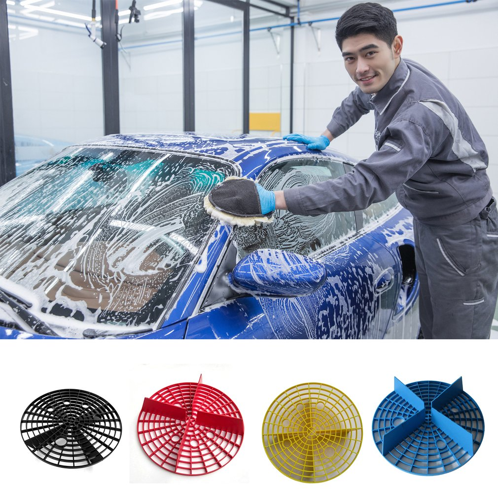 23.5cm Diameter Car Wash Grit Guard For Scratches Preventing Wash Microfiber Towel Cloth Spong Polishing Pad Cleaning Wash