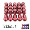 Гонки Высокое качество Кованые Алюминиевые Диски Гайки L: 35 мм P: 12x1.5 для Honda Mitsubishi, Ford, Toyota, Hyundai 20 Шт./компл.