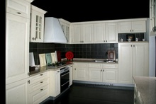 PVC/vinyl kitchen cabinet(LH-PV053)