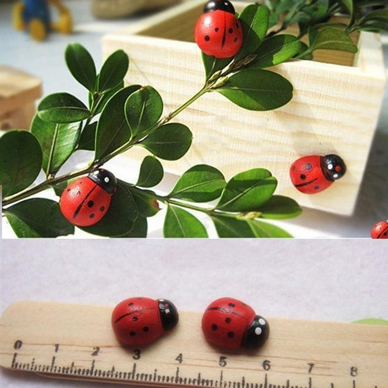 10pcs Set Sticker Ladybug Home Fridge Stickers Refrigerator Fridge Glue Sticker Decoration Ornament Clearance Sale