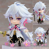 Anime Nendoroid Fate Grand Order Caster Merlin 970 DX Magus Of Flowers Ver PVC Action Figure Collection Model Toys Doll